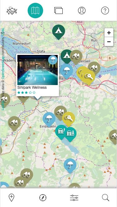Design und Entwicklung interaktive Geo-App für Smartphones