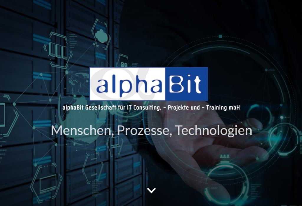 Design und Entwicklung Website Alphabit