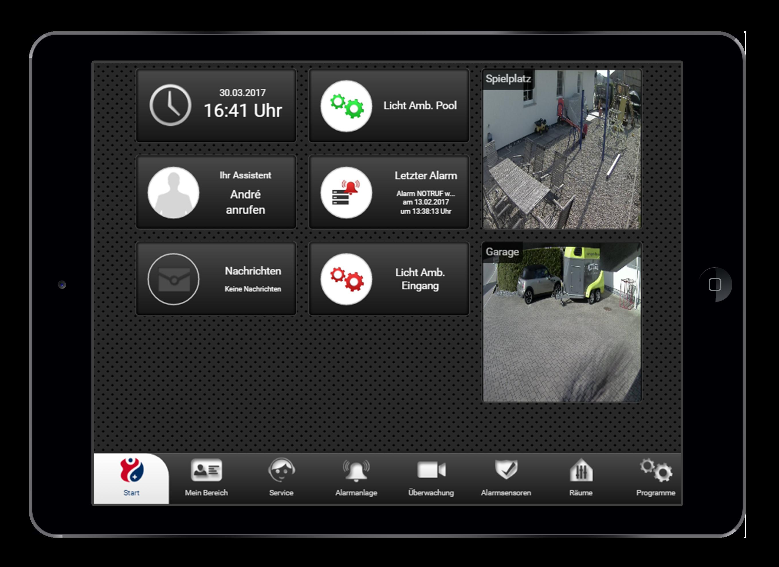 Design und Entwicklung konfigurierbares Dashboard in Smarthome App
