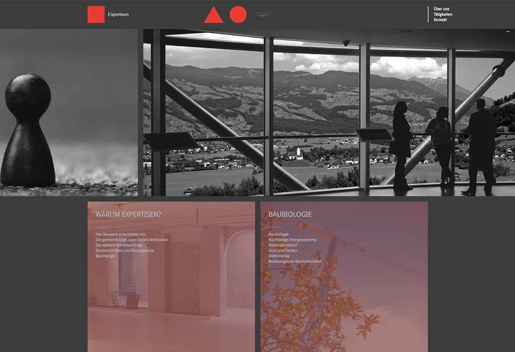 Design und Entwicklung Website Explanor