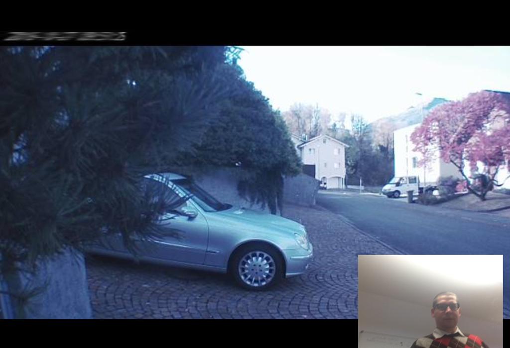 Design und Entwicklung App für Kamera Live-Stream
