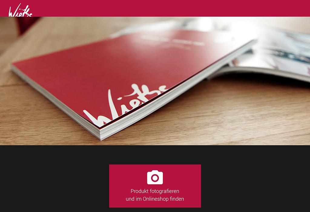 Design und Entwicklung der App für Bilderkennung in Katalogen